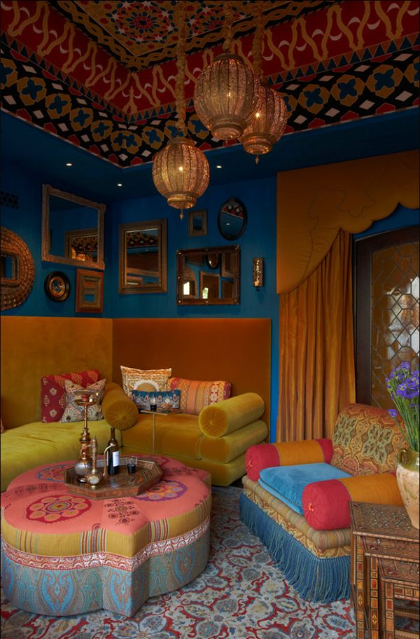 Bohemian-living-room-rich-colors