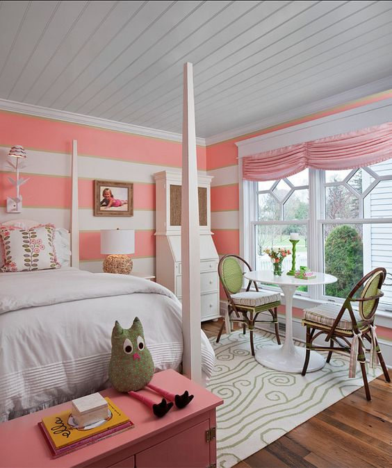 Cute girls room designed