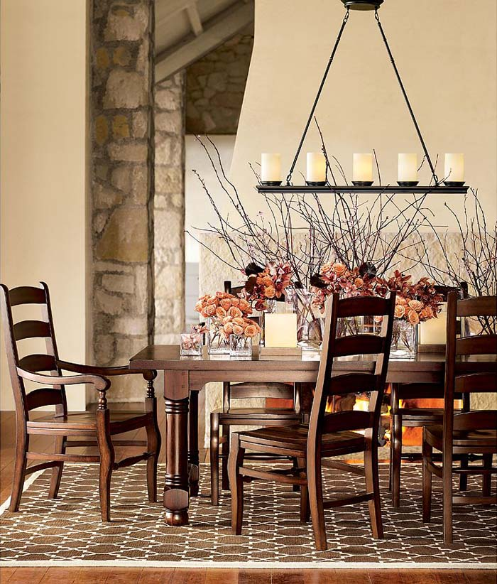 47 Calm And Airy Rustic Dining Room Designs: 30 Amazing Rustic Dining Room Design Ideas