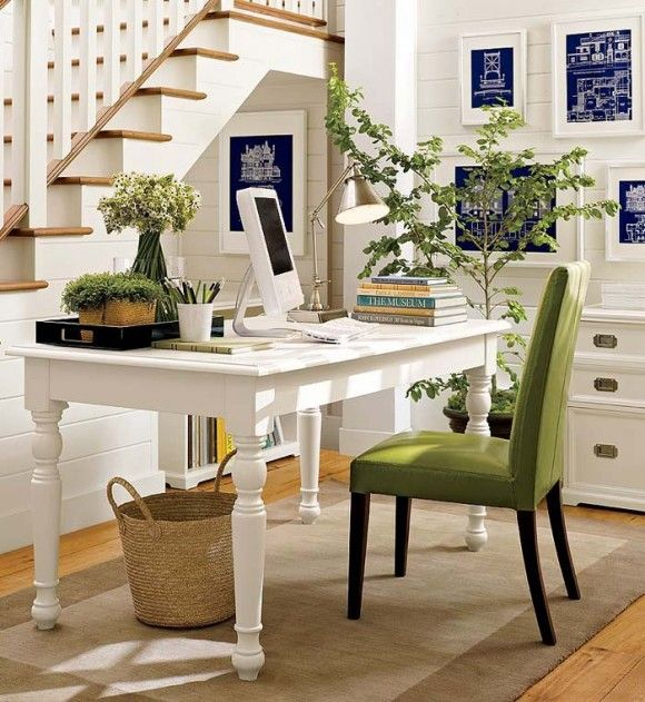 Farmhouse Home Office Décor Ideas