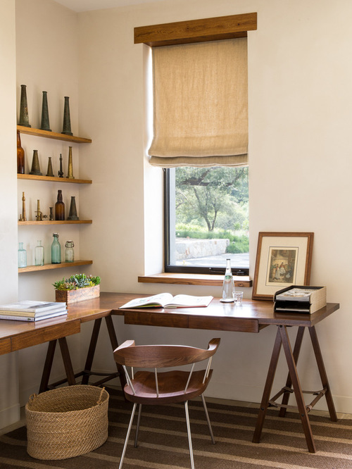 Farmhouse Home Office Design Ides