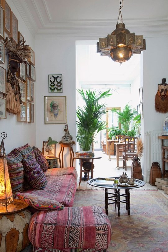 Gallery of Bohemian Living Rooms