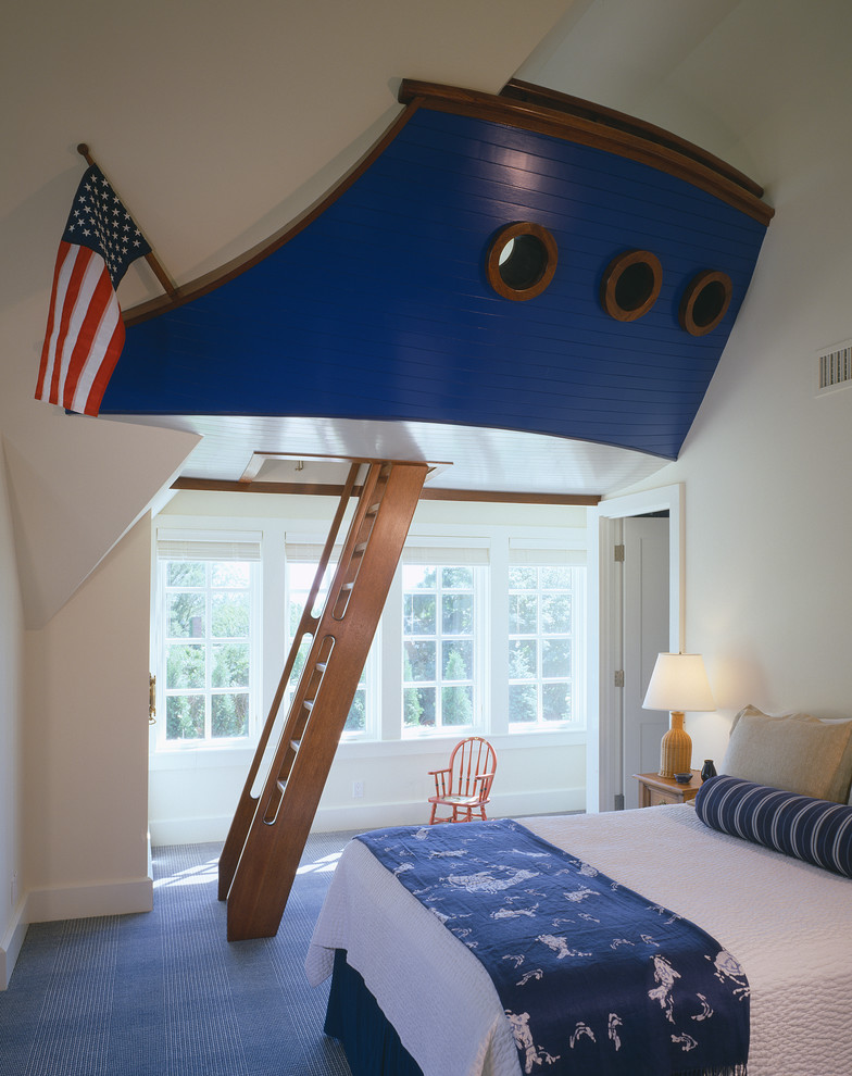 Great Beach Style Kids Room Design