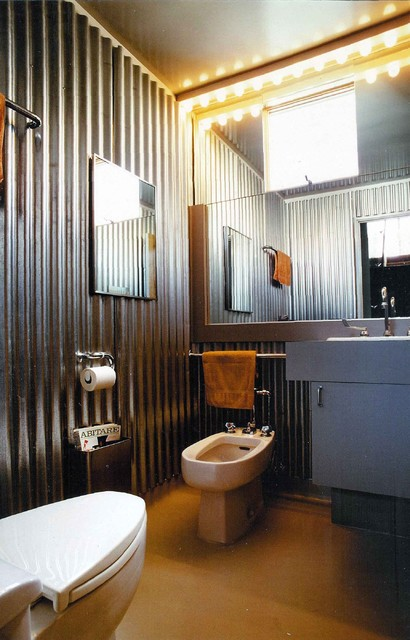 Half Bath industrial-bathroom