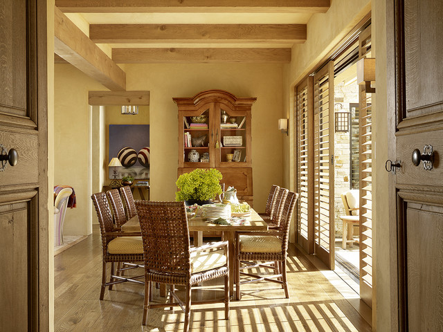 Hilltop Retreat mediterranean-dining-room