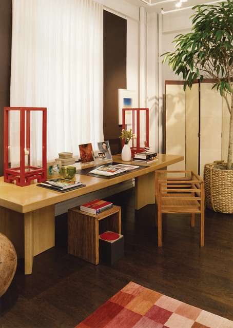 Inspirational Asian Home Office Interior Designs That Can Increase Productivity