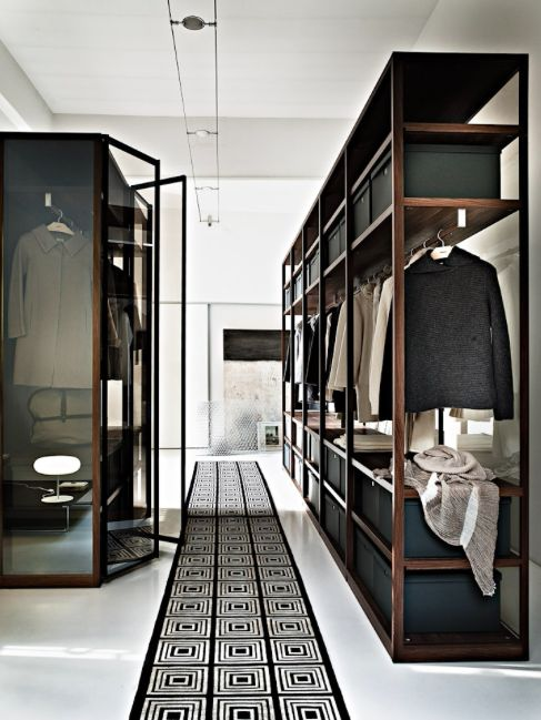Masculine Closets & Dressing Rooms