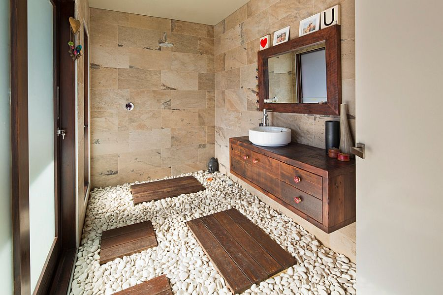 Natural-stone-and-pebbles-create-an-exotic-tropical-style-bathroom