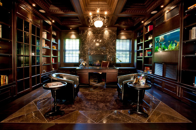 Residence traditional-home-office
