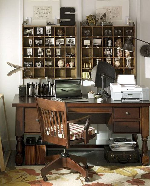 Rustic Farmhouse home office