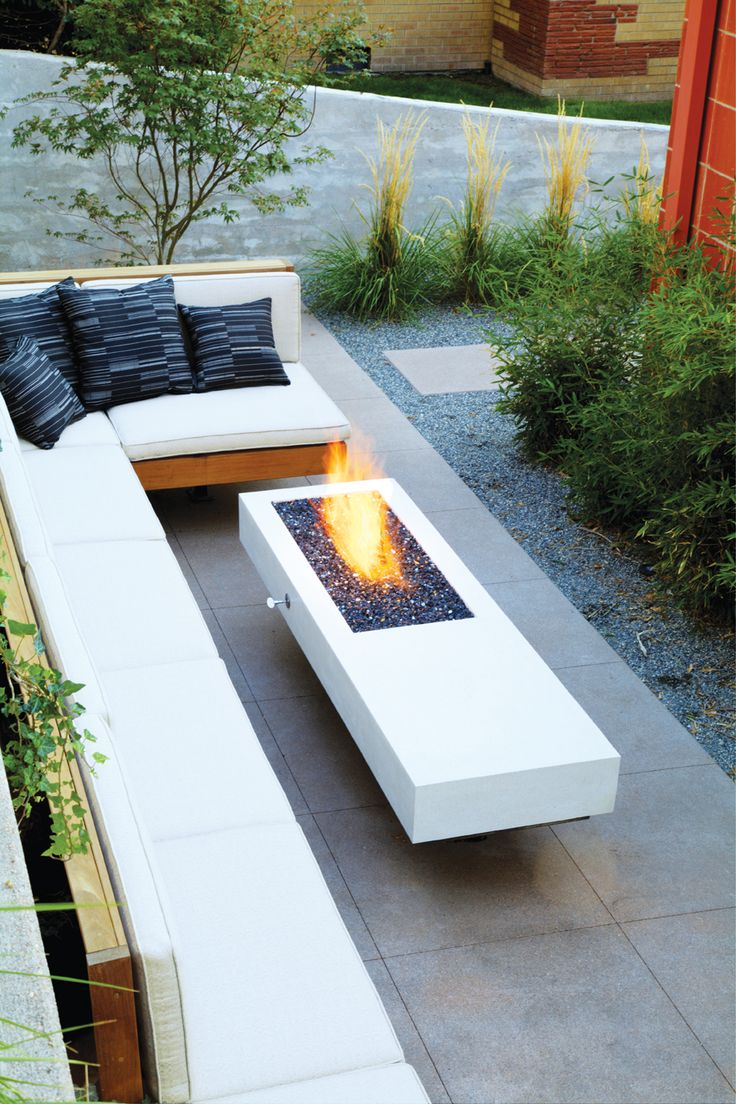 Small Patio Design Plus L Shaped Outdoor Bench