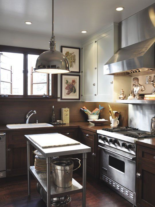 Sophisticated City Kitchen