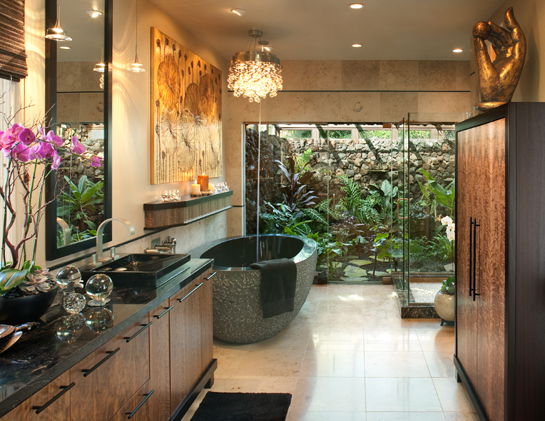 Tropical Bathroom Design Photos