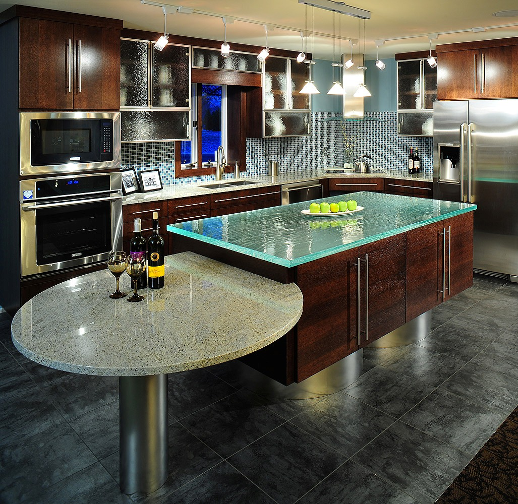 modern-style-contemporary-kitchen-design-ideas-brown-laminated-wooden-kitchen