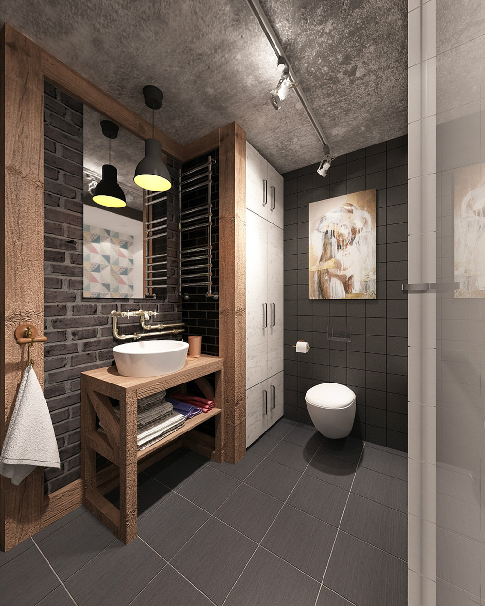open-industrial-bathroom-design