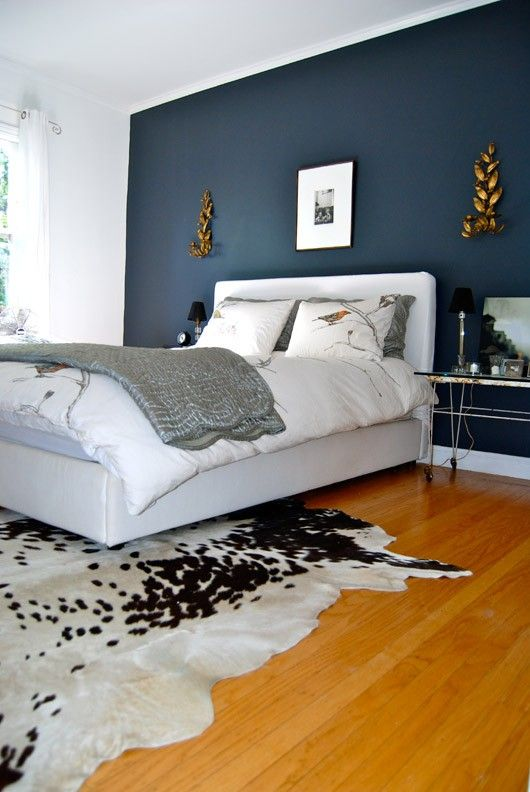 Midnight Blue & Grey Color Combination