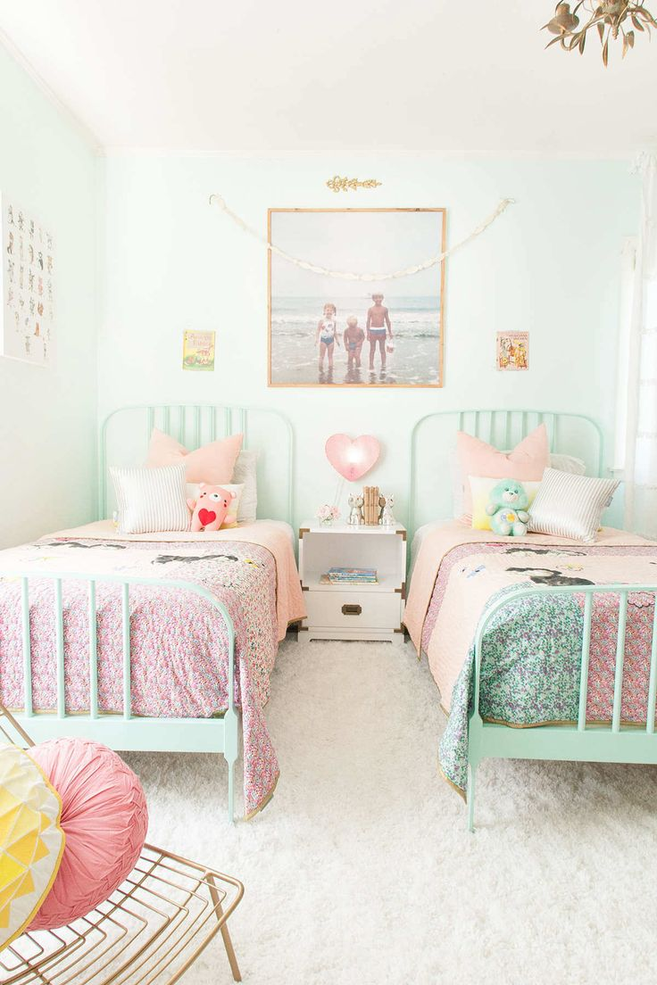 Adorable Pastel Bedroom