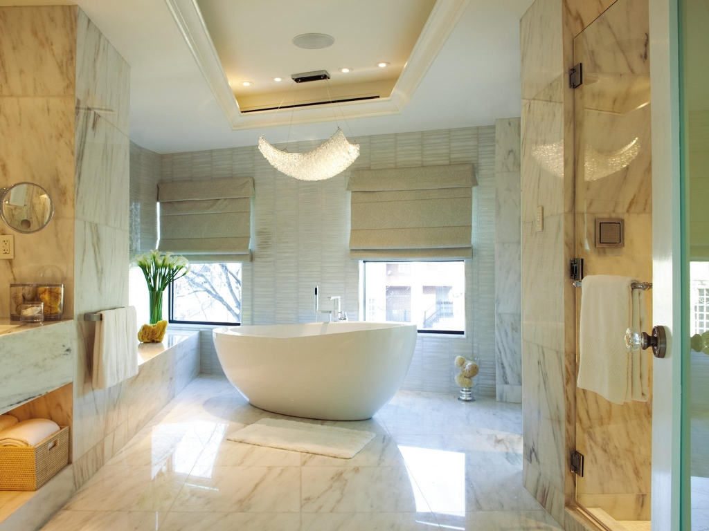 Cool Bathroom With Modern Amenities