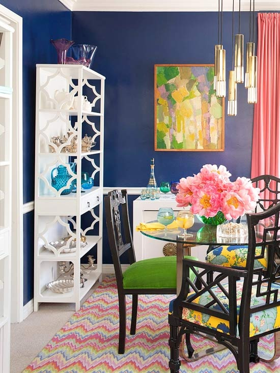 Stunning Colorful Dining Room (23)