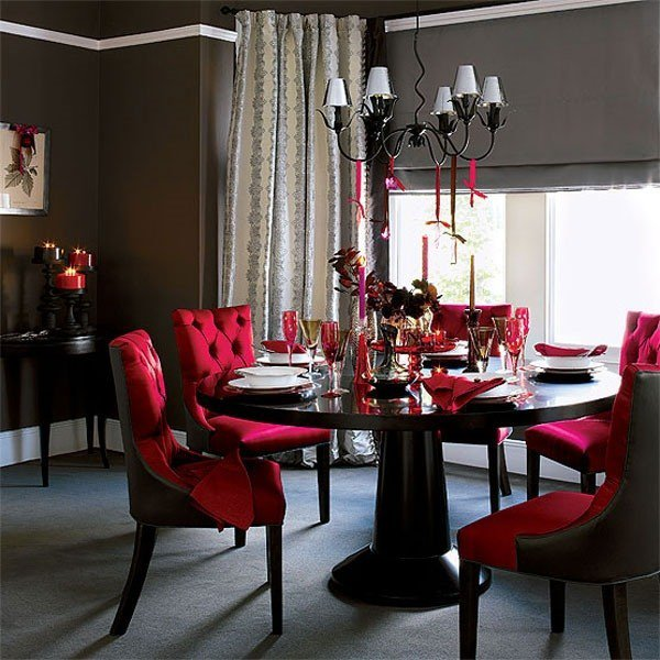 Stunning Colorful Dining Room (25)