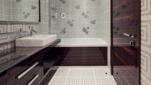 15 Stunning Bathroom Wallpaper Design Ideas