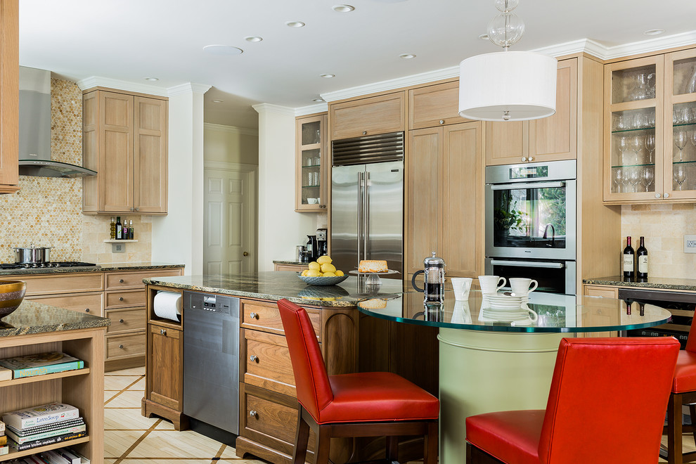 Contemporary Traditional Kitchen Design Inspiration (3)