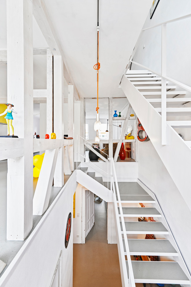 Eclectic Staircase Design