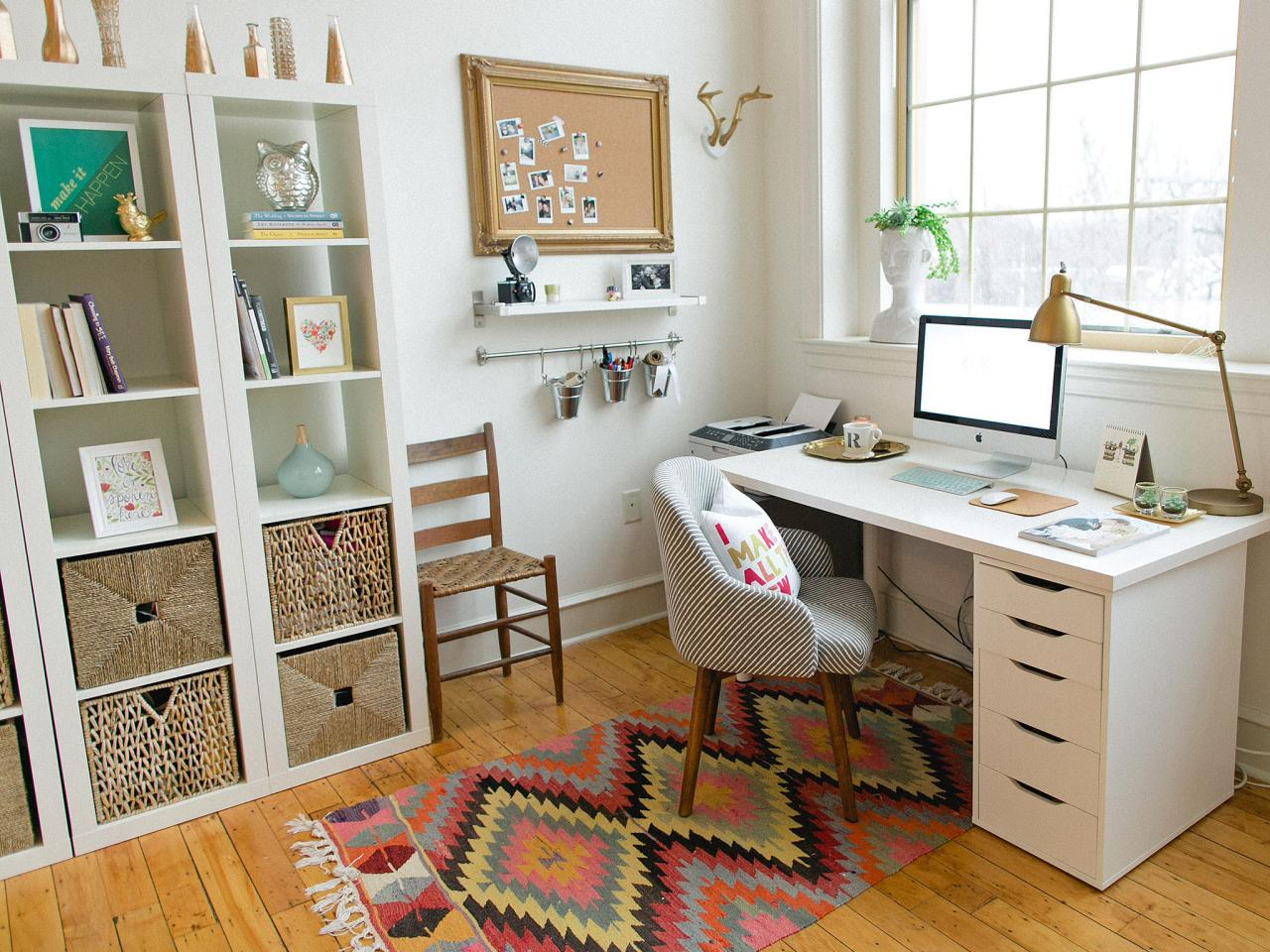 Home Office With Global Touches