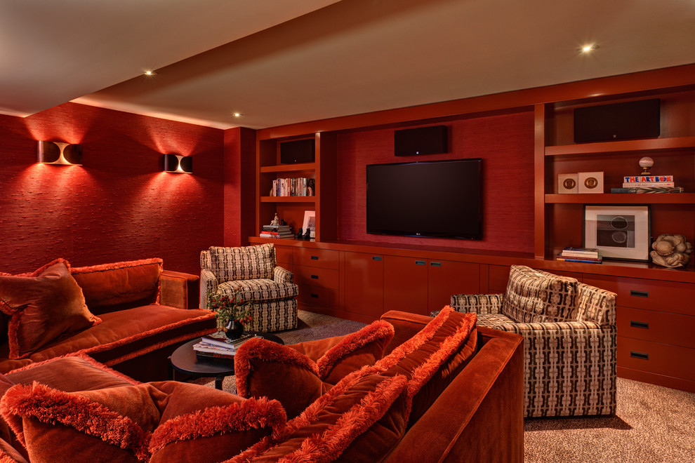 Midcentury Home Theater