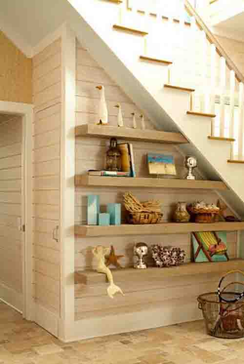 Modern Under Stairs With Storage Ideas