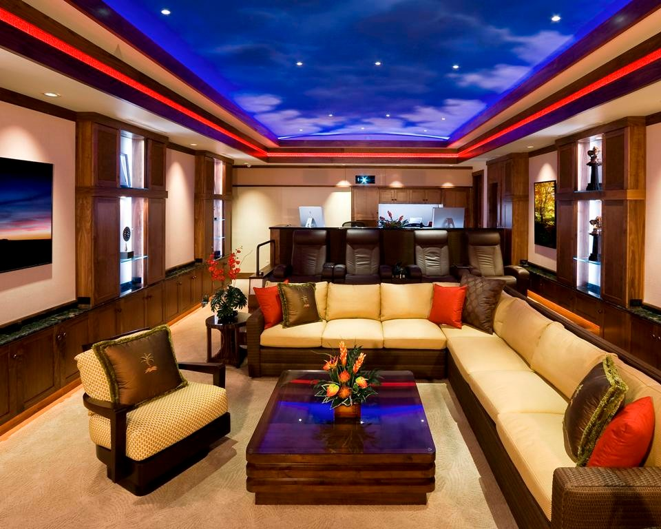 Tropical Home Theater