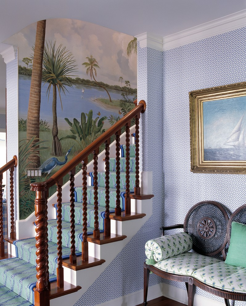 Tropical Staircase Design