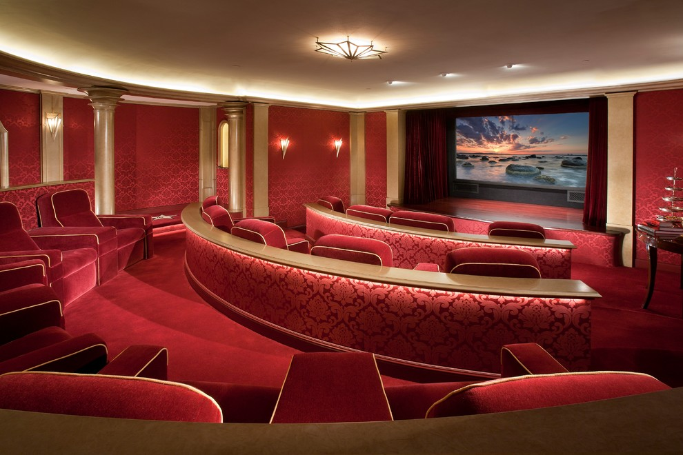 Victorian Home Theater
