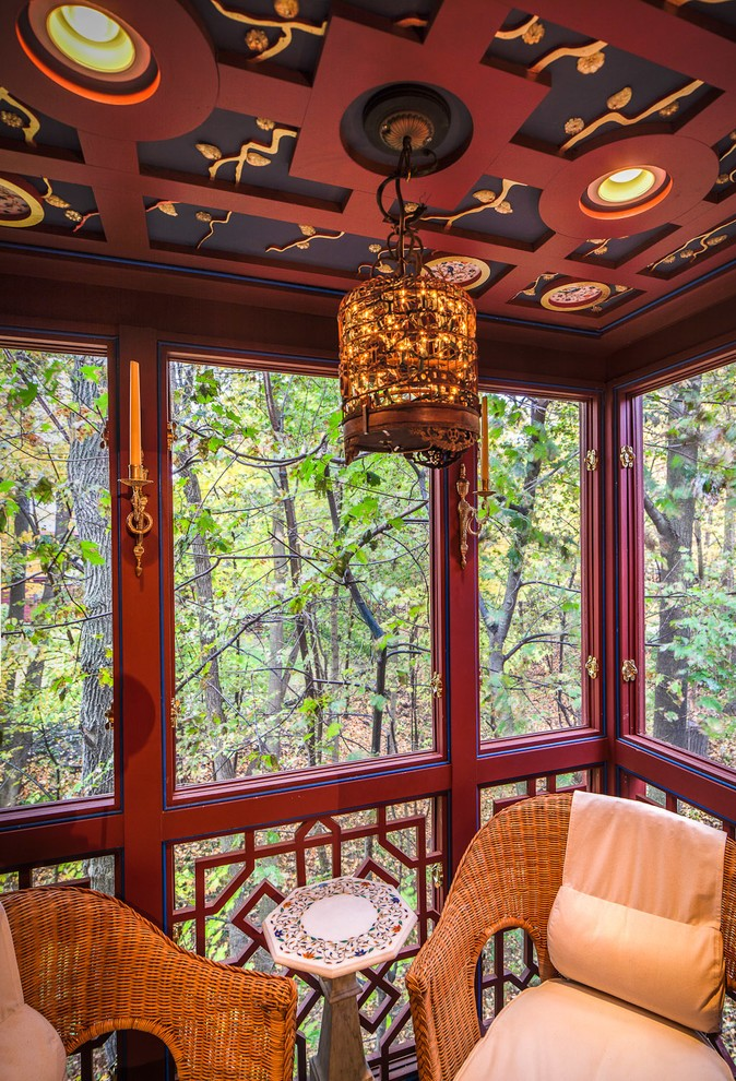 Asian Porch Design