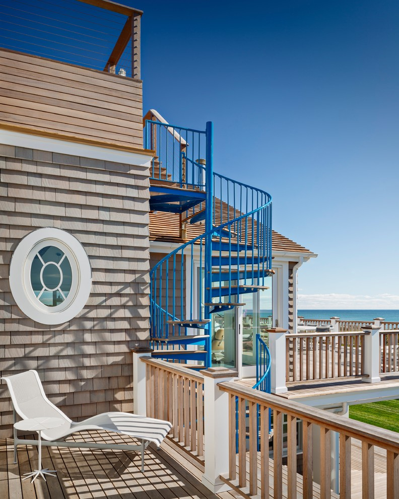 Beach Style Deck Design