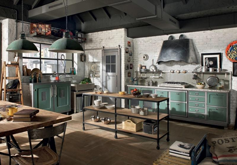 lively-industrial-kitchen