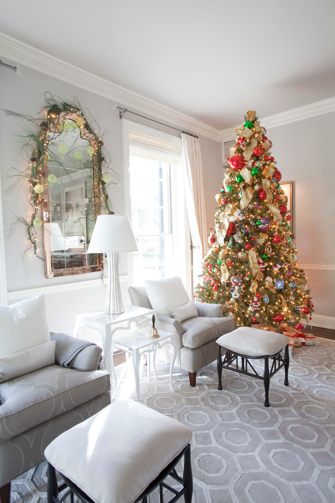 living-room-christmas-decoration