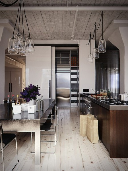 metal-surface-industrial-kitchen