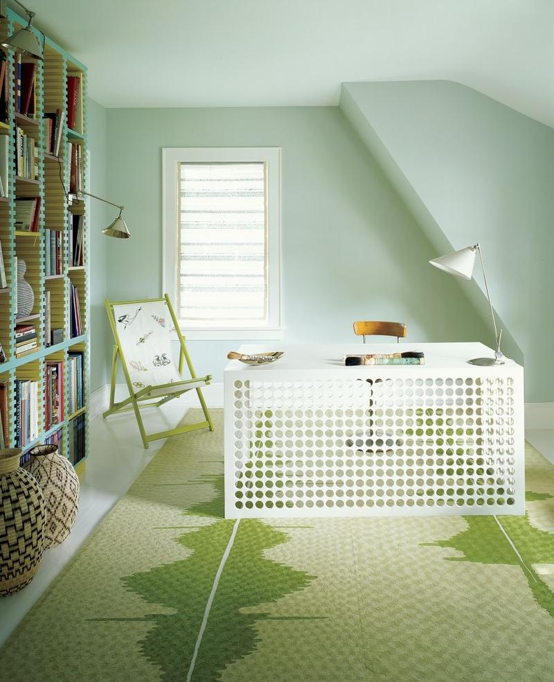 pastel-green-contemporary-home-office