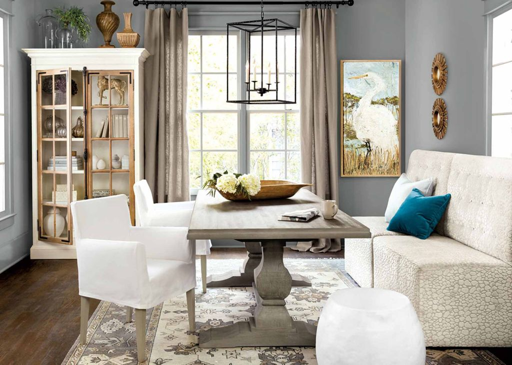 Chic Contemporary Dining Room