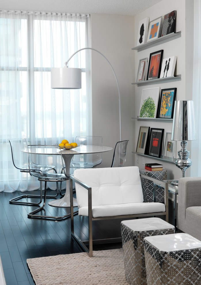 Condo Contemporary Dining Room
