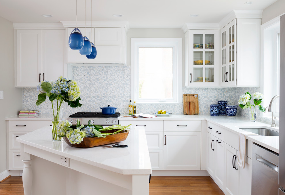 Traditional L-Shaped Kitchen