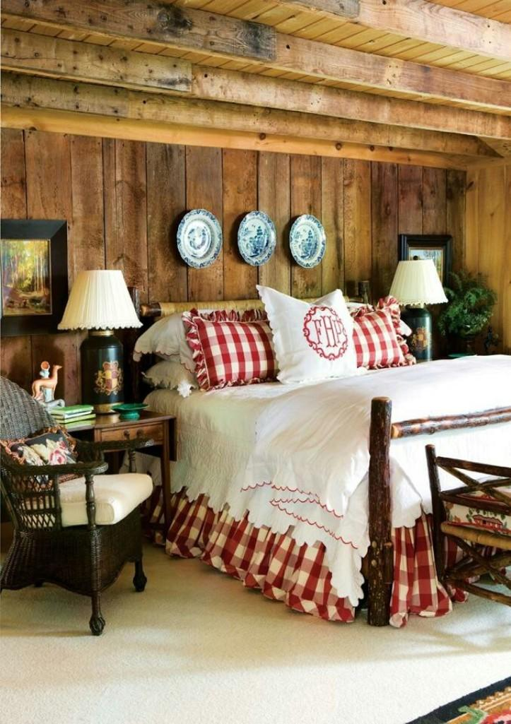 Warm Country Bedroom