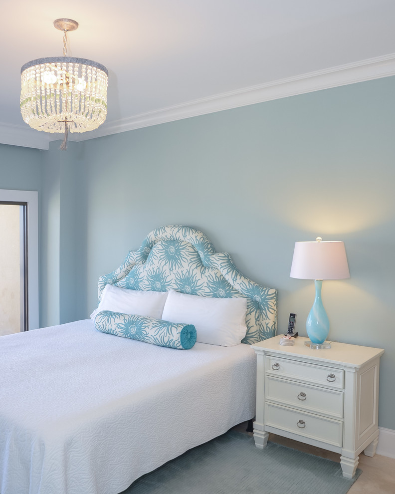 Beach-Style Guest Bedroom