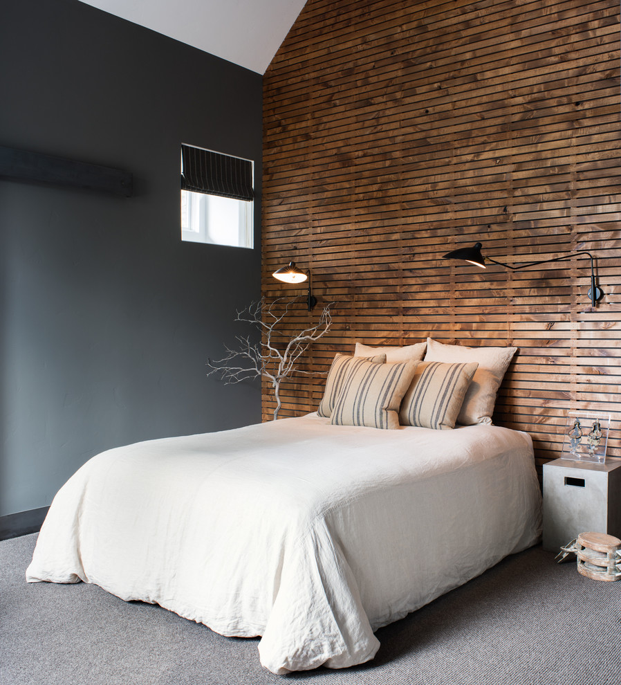Industrial Guest Bedroom