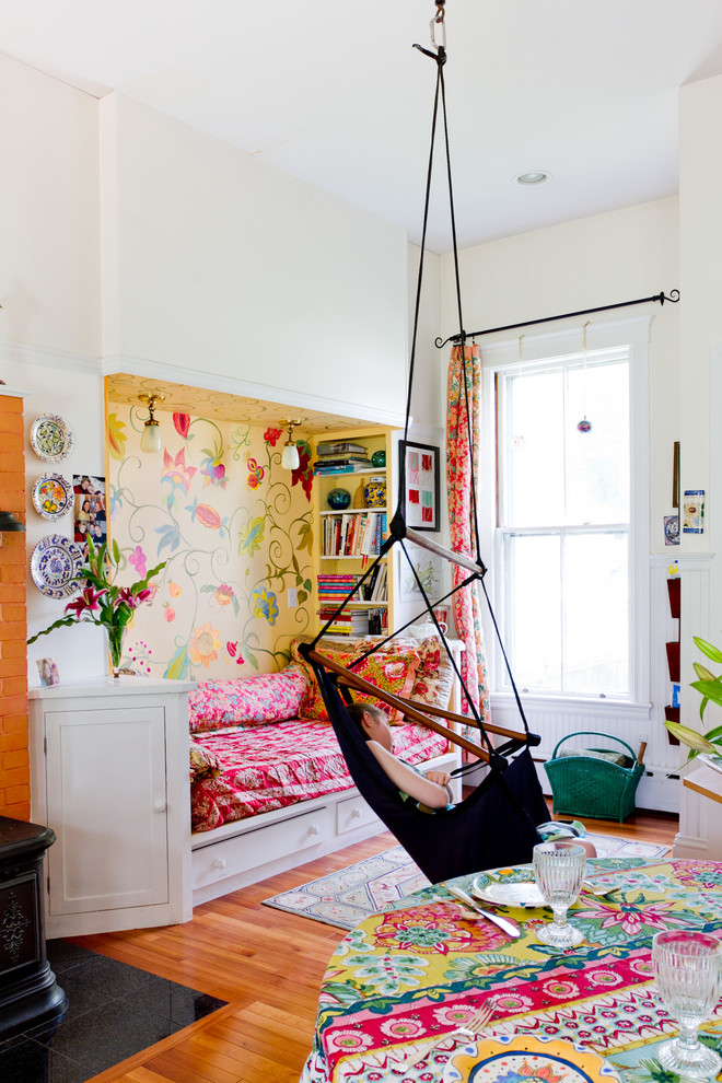 Eclectic Colorful Kids Bedroom