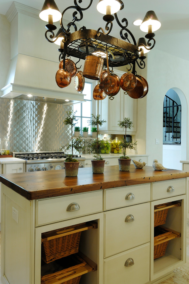 Mediterranean Small Kitchen Island