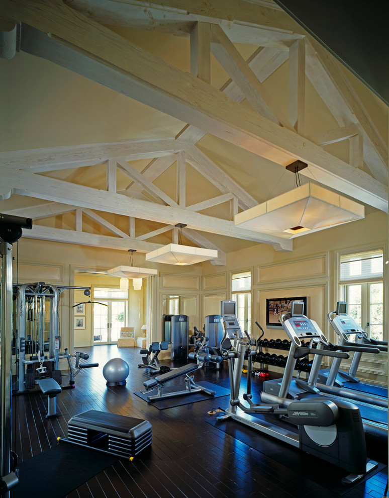 Traditional Home Gym Design