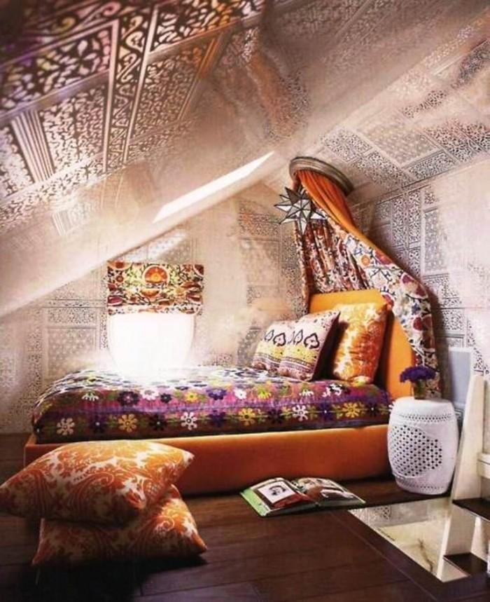 Kids Attic Boho Girl's Bedroom