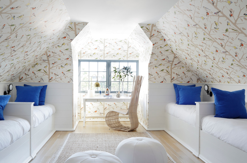Kids Attic Eclectic Bedroom